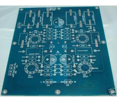 PCB Modified Marantz 7 Tube Pre Amplifier (2 Channels)_Bare