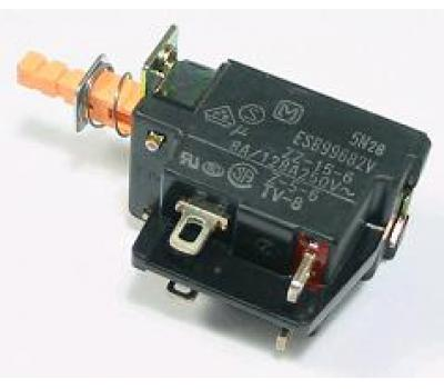 China 8A/250V Push Hold Power Switch