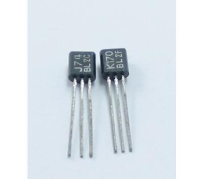 TOSHIBA JFET 2SK170 2SJ74 Pair TC-92_Transistor_Analog Metric - DIY