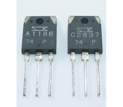SANKEN 2SA1186 2SC2837 (Matched Pair)
