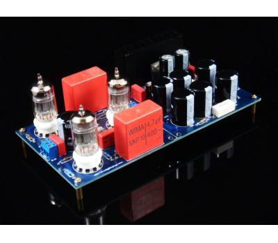 GG Grounded Grid Preamplifier Kit (Stereo) (No tube version)