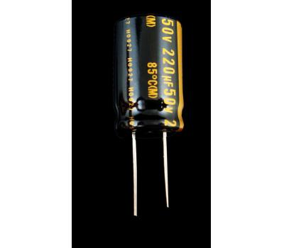 Nichicon Muse 220uF/50V Electrolytic Capacitor