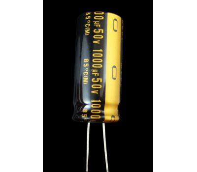 Nichicon Muse 1000uF/50V Electrolytic Capacitor