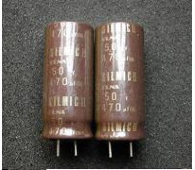 5 1 Pc ELNA RFS Silmic II AUDIO condensateur 470uf 50 V 16x35,5 85 ° C rm7