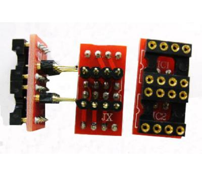 Dual to Single DIP8 Adaptor Board