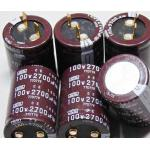 Nippon Chemi-con 2700uF 100V Electrolytic Capacitor