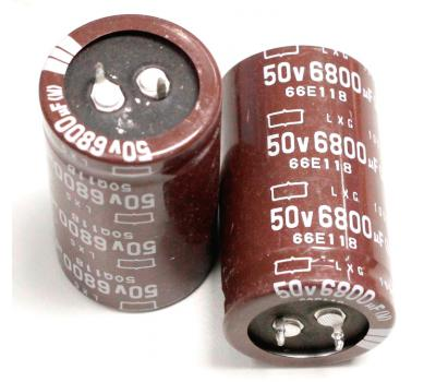 Nippon Chemi-con 6800uF 50V Electrolytic Capacitor