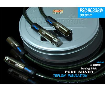 Yarbo PSC-9033BW 1M Pure Silver Balanced Cable