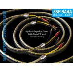 Yarbo GY-BSP-8AAA OFC Speaker Cable 2.5M Pair