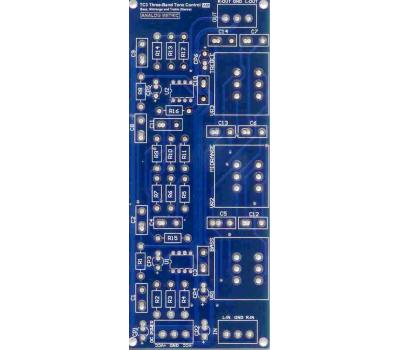 TC3 Three Band Tone Control PCB (Bass, Mid-range and Treble) (Stereo)