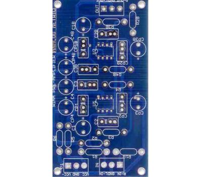 RIAA Preamplifier PCB (Stereo)_Bare PCB_Analog Metric - DIY