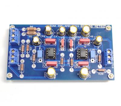 RIAA Preamplifier Kit (Stereo)_Filter_Accessories Kit_Analog Metric