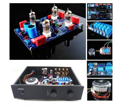 12AX7 Phono S1 MM/MC Preamplifier Full Kit (Stereo), Mod Based on