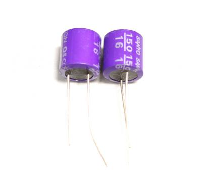 SANYO 150uF 16V OS-CON Electrolytic Capacitor