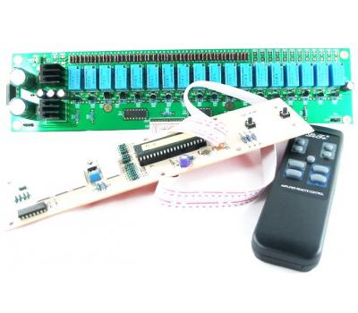 V02 IR Remote Control Volume (81 step) & Input Selection & LED Display Module